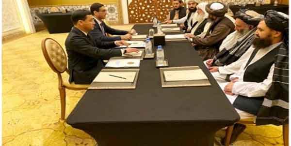 ترکمنستان و طالبان - صلح افغانستان محور گفتوگوی مقامات ترکمن و طالبان