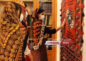 تخصصی فرش ترکمن حصل خانجانی ترکمن نیوز 4 300x211 - گزارش تصویری افتتاحیه موزه تخصصی فرش دستبافت ترکمن