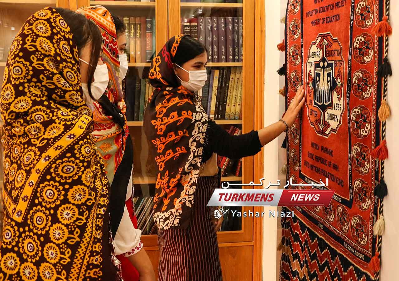 تخصصی فرش ترکمن حصل خانجانی ترکمن نیوز 4 - گزارش تصویری افتتاحیه موزه تخصصی فرش دستبافت ترکمن