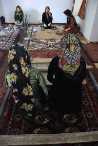 کوموش دفه ترکمن.jpg3  201x300 - موزه مردم شناسی کوموش دفه، جلوه ای از آئین و باورهای زیبای قوم ترکمن