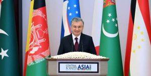 300x151 - میرضیایف: آسیای مرکزی و جنوبی را باید به فضایی باثبات تبدیل کنیم