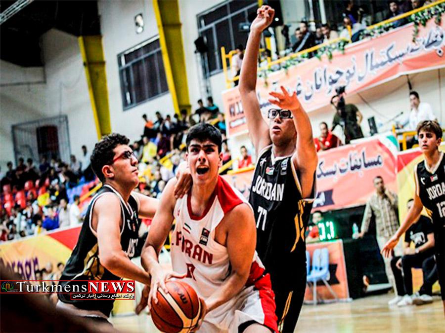 نایب قهرمانی ایران در مسابقات بسکتبال غرب آسیا