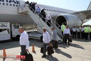 نخستین گروه از زائران بیتالله الحرام به گلستان بازگشتند