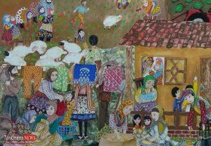 نوجوان گلستانی برنده مسابقه بینالمللی نقاشی بلاروس شد