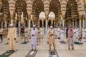 جماعت کرونا 300x200 - حضور مبتلایان به کرونا در نماز جماعت حرام است