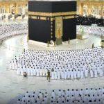 جمعه مسجدالحرام 150x150 - نخستین نماز جمعه بدون فاصله گذاری اجتماعی در مسجدالحرام اقامه شد