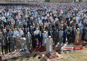 عید سعید فطر 1400 16 300x211 - گزارش تصویری نماز عید سعید فطر ۱۴۰۰