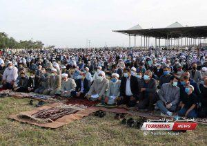 عید سعید فطر 1400 4 300x211 - گزارش تصویری نماز عید سعید فطر ۱۴۰۰