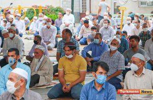 عید قربان مسجد آخوند طلابی 3 300x198 - نماز عید قربان در مساجد گنبدکاووس برگزار شد+عکس و فیلم