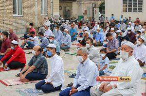 عید قربان مسجد آخوند طلابی 6 300x198 - نماز عید قربان در مساجد گنبدکاووس برگزار شد+عکس و فیلم