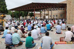 عید قربان مسجد آخوند طلابی 9 300x198 - نماز عید قربان در مساجد گنبدکاووس برگزار شد+عکس و فیلم