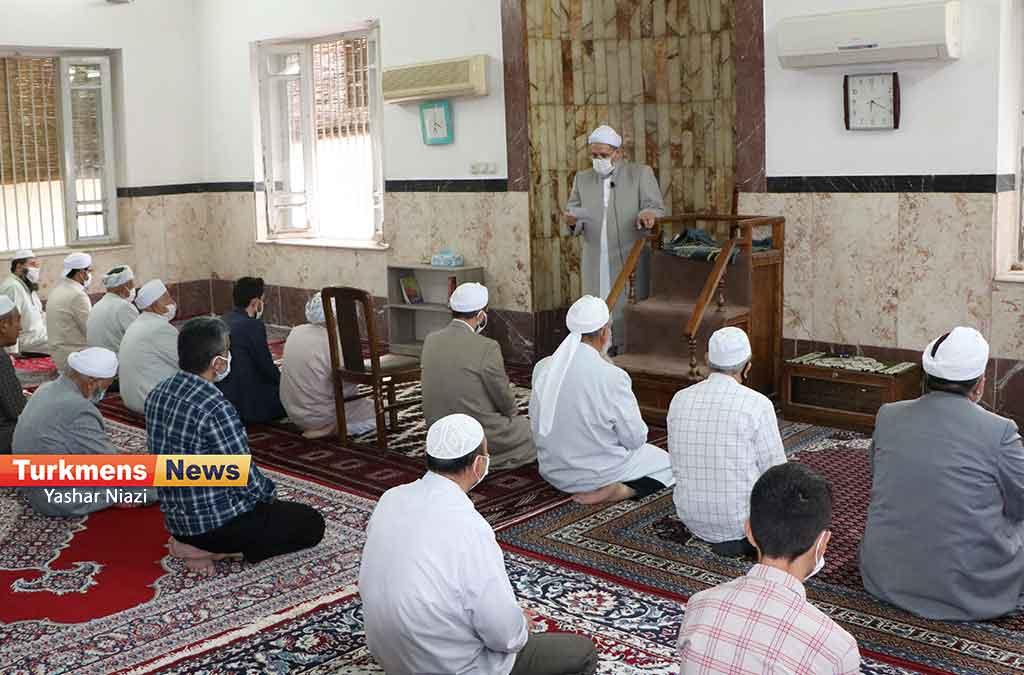 عید قربان مسجد نوریزاد 2 - نماز عید قربان در مساجد گنبدکاووس برگزار شد+عکس و فیلم