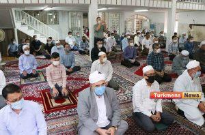 عید قربان مسجد نوریزاد 3 300x198 - نماز عید قربان در مساجد گنبدکاووس برگزار شد+عکس و فیلم