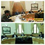 دیدار مجمع نمایندگان منتخب گلستان با وزیر ارتباطات و فناوری اطلاعات