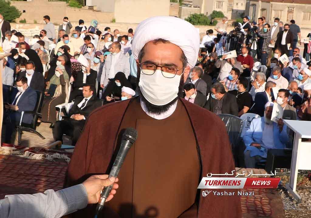دیلم ترکمن نیوز 1 - مخدومقلی فراغی الگوی آزاداندیشی، آزادی خواهی، انسانیت و معنویت است+عکس
