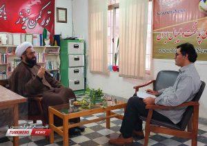 نورعلی دیلم رئیس مرکز بزرگ اسلامی