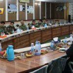برگزاری جلسه کارگروه هماهنگی کمیته نیروهای مسلح به مناسبت دهه مبارک فجر