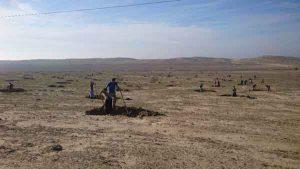 آبگیر در مراتع گنبدکاووس 300x169 - عملیات احداث هلالی آبگیر در مراتع گنبدکاووس آغاز شد