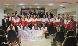 احمر استان گلستان 2 300x176 - برگزاری سومین دوره تربیت مربی امداد و کمکهای اولیه هلالاحمر گلستان + تصاویر