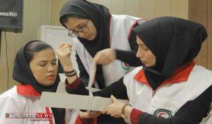 احمر استان گلستان 6 300x176 - برگزاری سومین دوره تربیت مربی امداد و کمکهای اولیه هلالاحمر گلستان + تصاویر