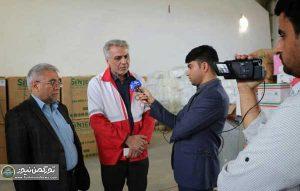 احمر گلستان1 300x191 - اهدای 101 دستگاه اجاق گاز توسط انجمن داروسازان گلستان به سیلزدگان آق قلا