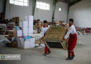 احمر گلستان2jpg 300x211 - اهدای 101 دستگاه اجاق گاز توسط انجمن داروسازان گلستان به سیلزدگان آق قلا