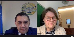 با اتحادیه اروپا 300x151 - تحکیم همکاری با اتحادیه اروپا محور رایزنی مقامات ازبکستان و اروپا