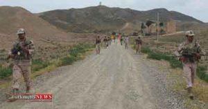 پیاده روی استقامتی پرسنل مرزبانی اترک گنبدکاووس برگزار شد