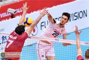 ایران کانادا2 300x203 - نخستین پیروزی والیبال ایران با جوانان