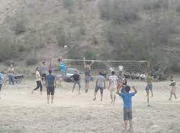 تورکمن صحرا - میدانهای تورکمنصحرا را والیبالی کنید