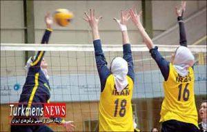 دختران 300x191 - تیم ملی والیبال جوانان دختر ایران با 2 گلستانی راهی تایلند شد