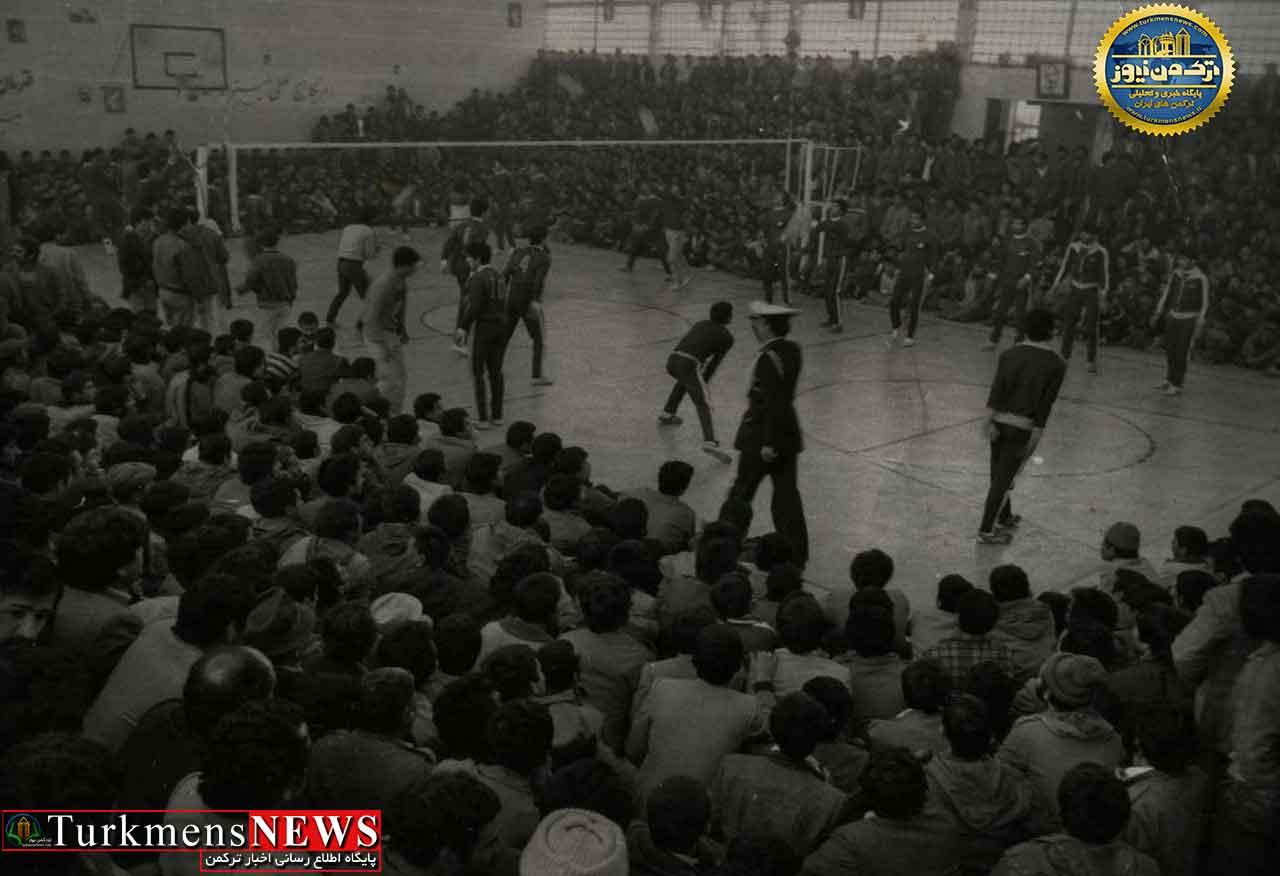والیبال دهه 60 گنبدکاووس