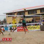 آغاز مسابقات والیبال ساحلی قهرمانی زیر 21 سال گلستان