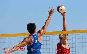 تیم والیبال ساحلی ایران مرحله نیمه نهایی تور جهانی تک ستاره ترکیه صعود کرد
