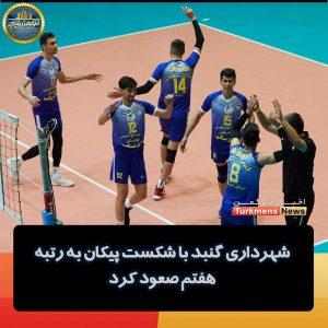 شهرداریگنبد 300x300 - شهرداری گنبد با شکست پیکان به رتبه هفتم صعود کرد