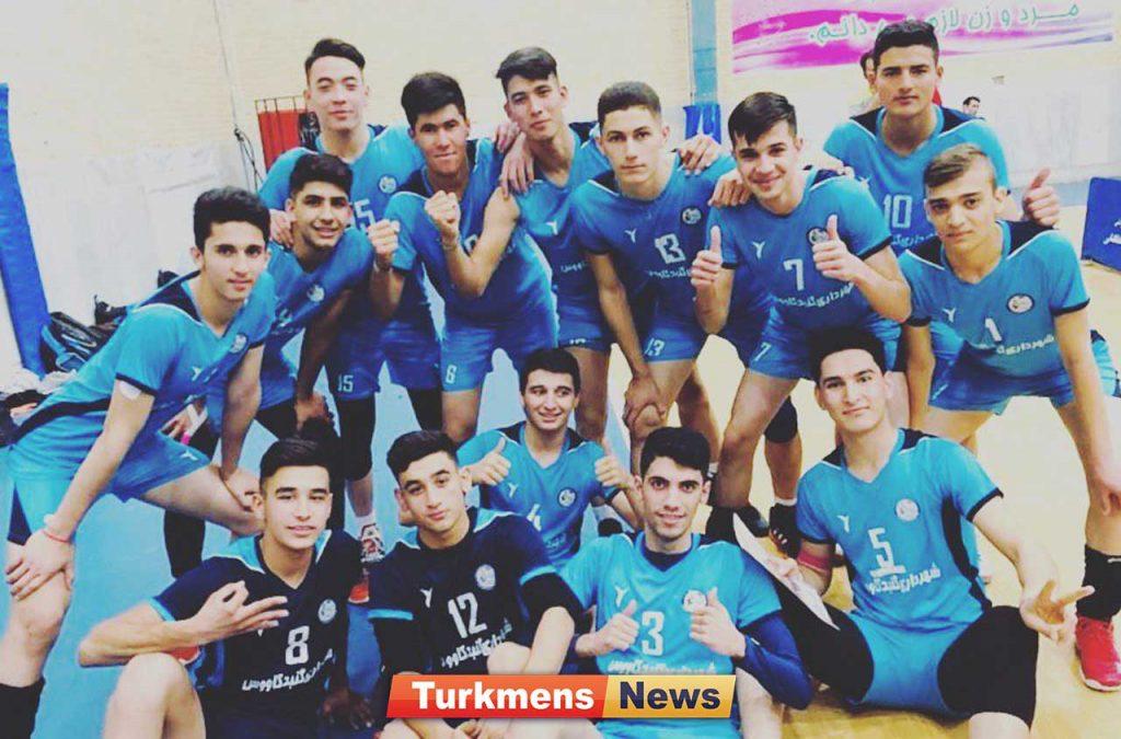 نوجوانان شهرداری گنبدکاووس 1024x675 - پیروزی والیبال نوجوانان روز خوب گنبدیها را کامل کرد+عکس