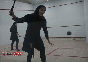 حضور ورزشکار گلستان در مسابقات دانشجویان دختر جهان