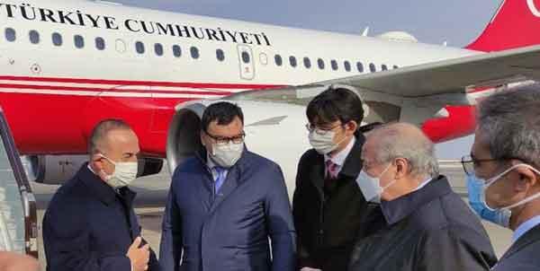 امور خارجه ازبکستان 1 - وزیر خارجه ترکیه وارد «اورگنج» ازبکستان شد