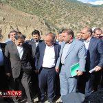 وزیر راه و شهرسازی از جاده خوش ییلاق بازدید کرد