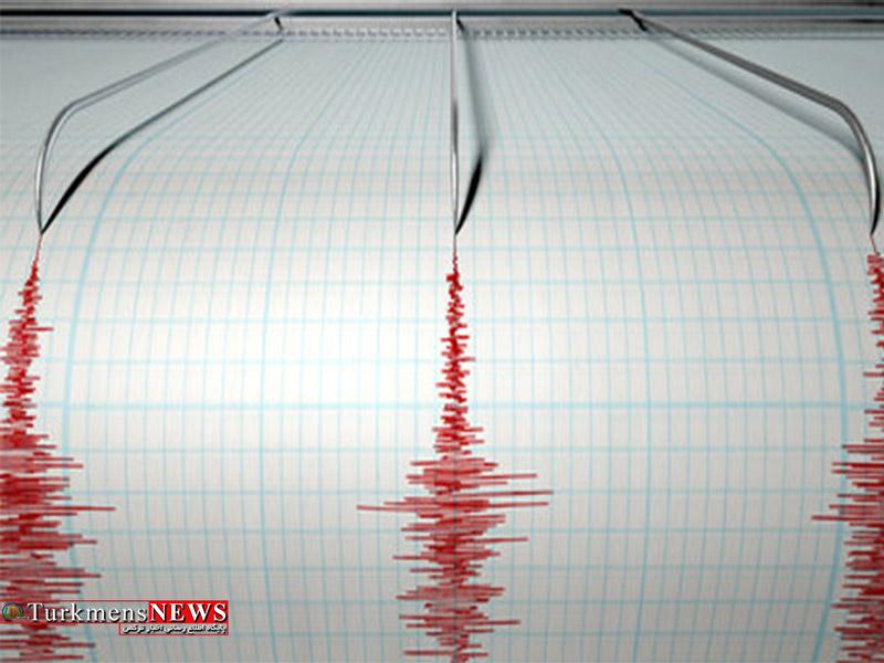 وقوع زلزله ۴.۲ ریشتری در علی آباد گلستان