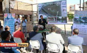 دکتر بسکی ترکمن نیوز 3 300x182 - بازدید معاون عمرانی وزیر کشور از پارک دکتر بسکی در گنبدکاووس+عکس