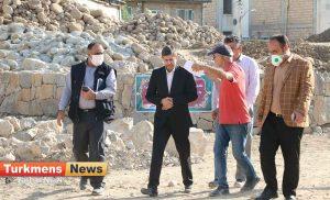 دکتر بسکی ترکمن نیوز 5 300x182 - بازدید معاون عمرانی وزیر کشور از پارک دکتر بسکی در گنبدکاووس+عکس