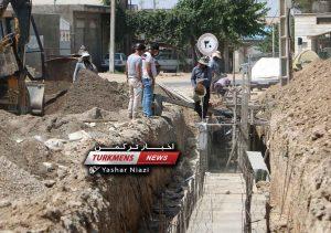 جمع آوری آبهای سطحی 300x211 - پروژه جمع آوری آبهای سطحی (روستای آق قایا) شهرستان گنبدکاووس+فیلم