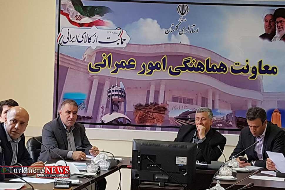 پروژه مسکن مهر استان گلستان در سالجاری تکمیل می شود