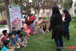 پویش سراسری فصل گرم کتاب در پارک بهمن سید آباد گنبدکاووس برگزار شد+ تصاویر