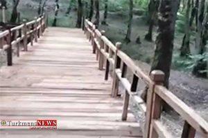 پیاده راه سلامت النگدره گرگان افتتاح شد