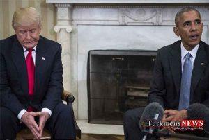 پیام ترامپ به اوباما پی از دیدار تاریخی با اون