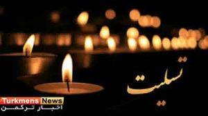 تسلیت.jpg1  300x168 - پیام تسلیت دکتر محمود احمدی بیغش در پی درگذشت مادر نماینده گنبدکاووس