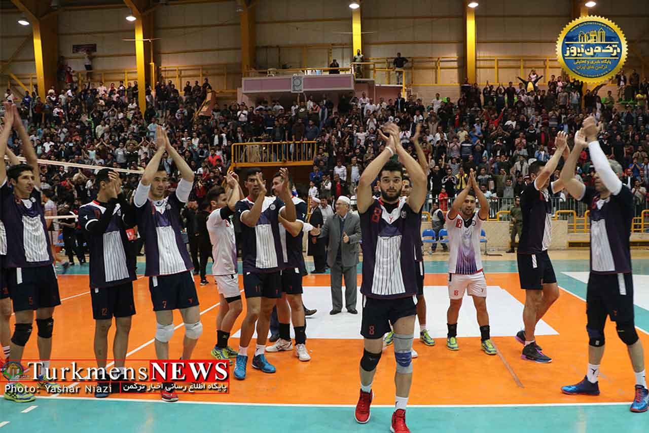 پیروزی والیبال گنبد بر درنا ارومیه 1