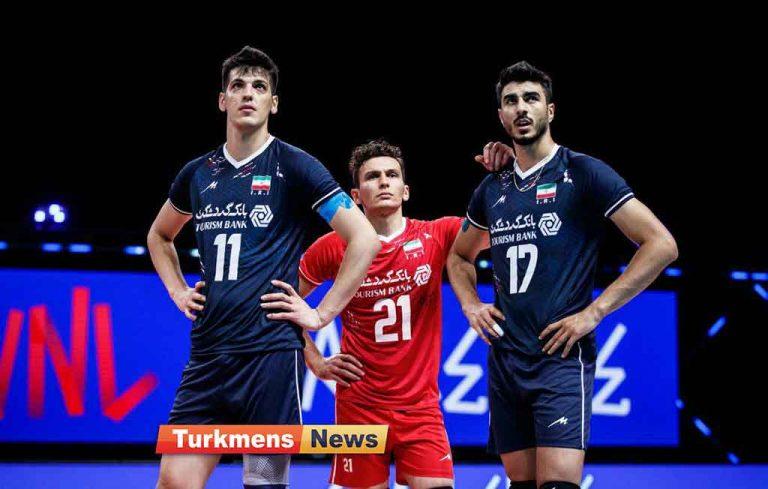 لیگ ملت های والیبال / پیش بازی ایران و ایتالیا